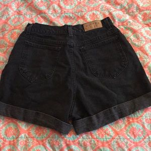 Riders by Lee Shorts - Black high waisted